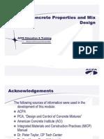 Acpa Mix Design Presentation