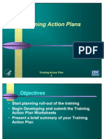 Training Action Plan - Slides1
