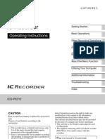 ICD-PX312 English 11