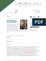 ICTJ World Report January 2012 Issue 8