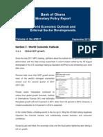 WEO External Sector Developments - September 2011