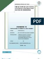 Informe 06 Nivelacion Lineal Con Cierre