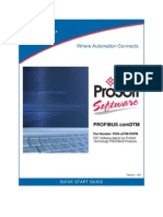 PROFIBUS ComDTM Quick Start Guide