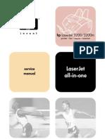 Hp LaserJet 3200 All-In-One - Service Manual