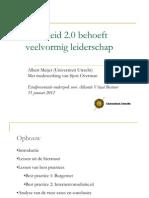 Leiderschap2.0 Albert Meijer