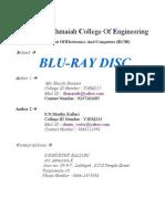 1.Blu Ray Disc