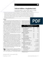 Dental Caries in HIV-Infected Children a Longitudinal Study