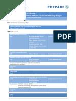 Agenda PREPARE and TRUST IN - Prague 2012