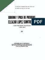 Tomo 31. Gobierno y época del presidente Eleazar López Contreras