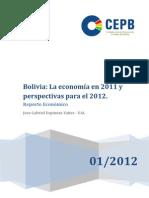 Proyecciones Para La Economia en 2012
