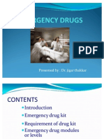 Emergency Drugs and Its Uses