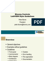 Labview Style Guidelines