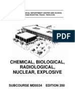 US Army Medical Course MD0534-200 - Chemical, Biological, Radiological, Nuclear, Explosive
