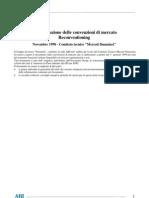 ABI - Armonizzazione Delle Convenzioni Di Mercato. Re Convention Ing