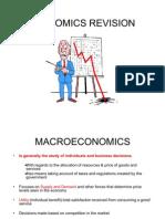 Economics Revision