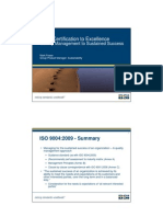 BSI - From Certification to Excellence Quality Management to Sustained Success