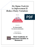 Six Sigma for Process Improvement & Reduction in Pastry Variations (1)
