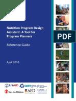 Nutrition Program Design Assistant