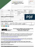 CBO UPK Registration Packet