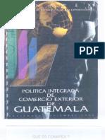 Política Integrada de Comercio Exterior Guatemala