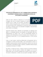 Protocolo Governo-CNIS 17-01-2012