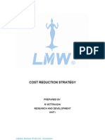 Cost Reduction Strategy