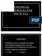 07.ANEMIAS ABORDAGEM INCICIAL