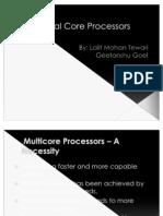 Dual Core Processors