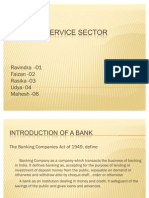 Banking Service Sector