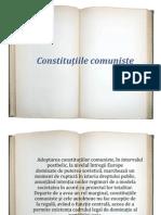 Constitutiile comuniste