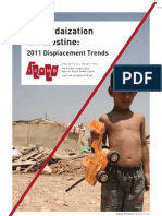 The Judaization of Palestine_2011 Displacement Trends