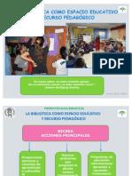 La biblioteca como espacio educativo y recursos pedagógico