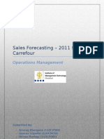 Sales Forecasting - Carrefour