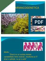 ecofarmacogenetica