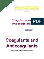 Anticoagulants Anti Platelets & Hematinincs