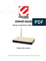 Router Enhwi-n34d User Manual