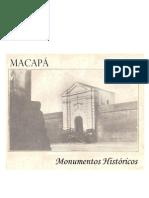Folh - Macapá, Monumentos Históricos (CEICT / DETUR-AP)