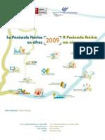 A Península Ibérica em Números 2009 (INE 2010)