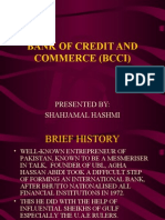 Bank of Credit and Commerce (Bcci)