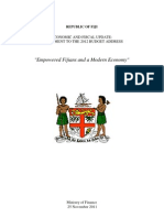 Fiji 2012 Budget Supplement