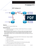 CCNPv6 ROUTE Lab2-6 EIGRP Challenge Student