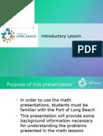 Port of Long Beach  Basics
