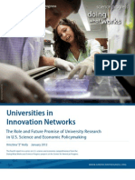 Universities in Innovation Networks