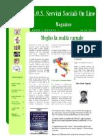 Magazine S.O.S. Servizi Sociali on Line Anno 2, Numero 1 PDF
