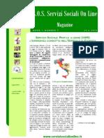 Magazine S.O.S. Servizi Sociali on Line n.5 PDF