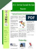 Magazine S.O.S. Servizi Sociali on Line n.6 PDF