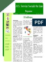 Magazine S.O.S. Servizi Sociali on Line n.09 PDF
