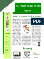 Magazine S.O.S. Servizi Sociali on Line n. 3 PDF