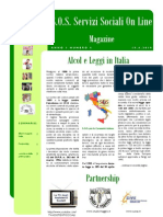 Magazine S.O.S. Servizi Sociali on Line n. 4 PDF
