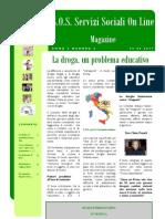 Magazine S.O.S. Servizi Sociali OnLine Anno 2, Numero 3